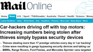 hackear carros